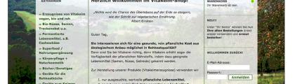 Online-Shop für vegane Naturkost. Vitakeim.de
