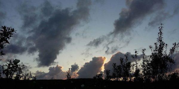 Evening sky, Portugal