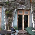 Modern version of how the Guanches lived: Loft in a cave. La Palma, Canaries