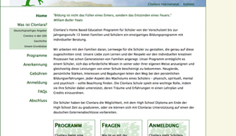 Clonlara School Germany