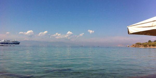Mediterranean sea, Aegina, Greece