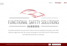 Neuer Webauftritt: Functional Safety Solutions Hamburg