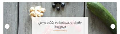 Relaunch: Blog & Shop & Social Media